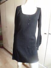 Sexy Strick-Mini-Kleid  Body Flirt größe 32-34 Schwarz    NEU