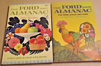 2 Vintage 1967 & 68 The Ford Almanac for Farm, Ranch & Home Books