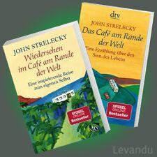 DAS CAFÉ AM RANDE DER WELT + WIEDERSEHEN IM CAFÉ ... | JOHN STRELECKY | Buch-Set