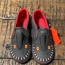 Vans Asher V (Vansosaur) Asphalt/Racing Red- Toddlers Size 7.5 VN000XE9Q5W