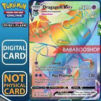 Dragapult V VMax Full Art197/192 Rebel Clash for Pokemon Card Online TCG Digital