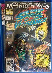 Marvel Comics. GHOST RIDER / BLAZE: SPIRITS OF VENGEANCE. #1 to 10.