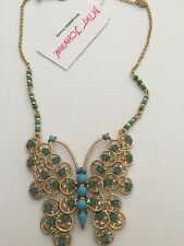 $48 Betsey Johnson Jewelry Boho Betsey Butterfly Pendant Necklace BJL-20A