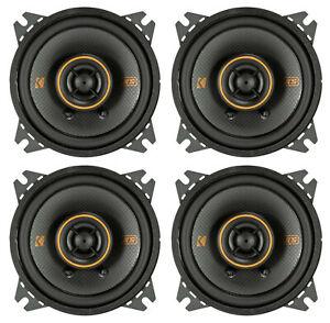 """(4) Kicker 47KSC404 KSC404 4"""" 75 Watt 2-Way Car Stereo Speakers KSC40"""