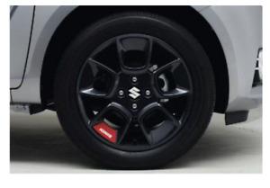 Suzuki Ignis Wheel Decals - Red