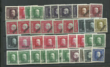 SERBIA, AUSTRIAN OCCUPATION, LOT 40 STAMPS FOR STUDY, ,MNH - MH, VF