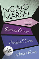 Vintage Murder / Death in Ecstasy / Artists in Crime by Ngaio Marsh...