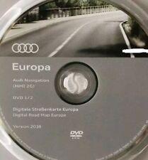 Mappe tutta Europa 2 dvd MMI 2G Audi mappe 2018 ultimissime