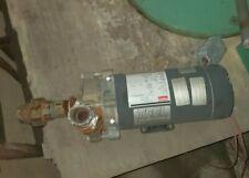 NEW UPRIGHT SUMP PUMP TELL PEDESTAL 0.33HP 4KU64 115V GENERAL ELEC MOTOR 60HZ