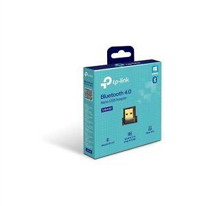 TP-LINK BLUETOOTH USB DONGLE ADAPTER 10M MINI NANO V4.0 WINDOWS PLUG PLAY UB400