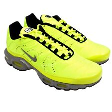 NWT Nike Air Max Plus PRM TN Tuned Full Volt Wolf Gray Men's Sneakers AUTHENTIC