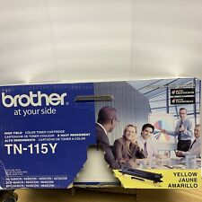 Brother TN-115Y High Yield Yellow Toner GENUINE