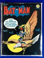 Batman No. 17 Golden Age Iconic WW2 Flying Eagle Cover Higher Grade