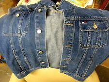 TOMMY HILFIGER DENIM JEAN JACKET SIZE Womens XL used good condition vintage