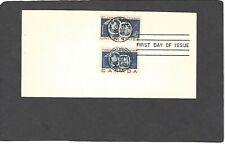 "#1131 4c ST.LAWRENCE SEAWAY FDC- JUN 25-1959 SOTN ""BULLSEYE"" CANCEL-DUAL ISSUE"