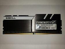 ✔✔ G.SKILL TridentZ 8GB (1 x 8GB) 4200MHz PC4-33600 DDR4 ***Samsung B-Die***