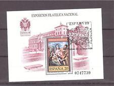 ESPAÑA 1989 EXFILNA´89 3012 HB