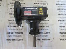 YALE / WINSMITH SPEED REDUCER MODEL 917MDN RATIO 20:1 , INPUT H.P. 3/4 NEW