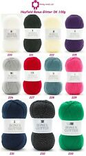 Hayfield Bonus Glitter Double Knit 100g - RRP £3.39 - Our Price £2.75