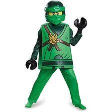 LEGO costume bambino NINJAGO LLOYD deluxe 10-12 anni CARNEVALE 110 201603