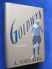 GOLDWYN - SIGNED by A SCOTT BERG to GORE VIDAL & HOWARD AUSTEN wi Estate Stamp