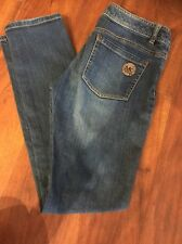 MK Micheal Kors Woman's Jeans Size 6 Skinny Jeans Boot Cut Pre Owned