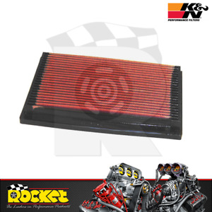 K&N Panel Air Filter 1987-1998 Fits Ford Laser TX3 Mazda 326/626 - KN33-2026