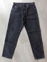 Wrangler WRANGLER Jeans 33/32 black schwarz Regular Fit Denim Made in USA
