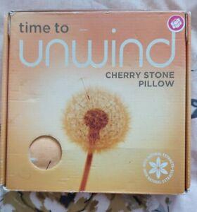 Cherry Stone Pillow, stone pillow, pillow cherry Stone