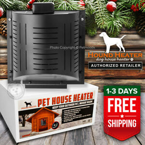Akoma Hound Heater Deluxe PLUS Dog House Furnace 300 Watt PTC Pet House Heater