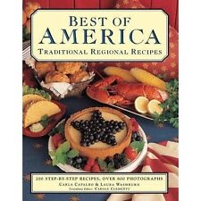 Best of America: Traditional Regional Recipes: The American Family Cooking Libra