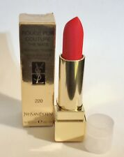 Yves Saint Laurent Rouge Pur Couture The Mats - #220 Crazy Tangerine 3.8g/0.13oz