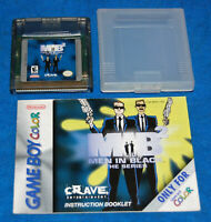 MIB 2 The Series Nintendo Game Boy Color Game w/Case & Manual, Cleaned & Tested