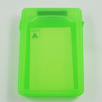 New 3.5inch IDE SATA HDD Storage Box Case Enclosures HDD Green Boxs FP