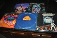 SATURDAY NIGHT FEVER/CAR WASH/TGIF/DONNA SUMMER: POP DANCE VINYL 5 LP RECORD LOT