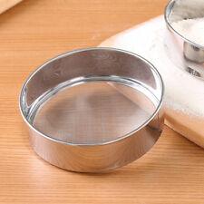 Stainless Steel Fine Mesh Oil Strainer Flour Colander Sifter Sieve Kitchen Tool