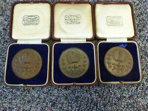 3 x Borough Polytechnic Photographic Society Bronze Medals Awarded 1934