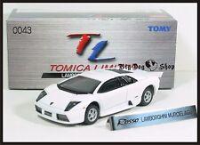 TOMICA LIMITED TL 0043 LAMBORGHINI MURCIELAGO 1/62 TOMY NEW DIECAST CAR WHITE