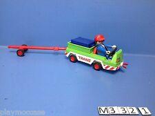 (M332.1) playmobil Véhicule manutention aéroport 3185/3186/3212