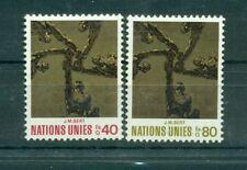 "Nations Unies Géneve 1972 - Michel n. 28/29 - ""J. M. Sert"""