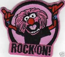 ROCKON ANIMALthe Muppets  IRONON PATCH BUY 2 GET 1 FREE