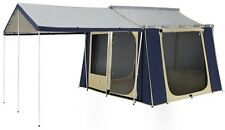 OZTRAIL CANVAS CABIN TENT 10 x 8  *BRAND NEW*