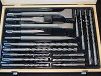 SDS Hammer Drill Percussion Bits Chisel Point Demo Demolition Set fo Bosch Hilti