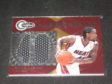 Udonis Haslem Heat Certified Authentic Game Used Jersey Basketball Card #196/299