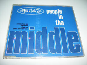 SPEARHEAD - PEOPLE IN THA MIDDLE 4tr. CD MAXI UK 1994