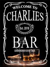 Custom Bar Man Cave sign, mancave,gift Funny, Jack Daniels pub vintage free p&p