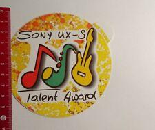 Pegatina/sticker: Sony UX s talento Award (160317101)