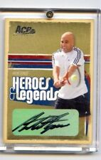 2006 Ace Heroes & Legends ANDRE AGASSI Auto #/75 Super Rare Autograph! Card No 1