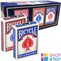 12 DECKS BICYCLE RIDER BACK STANDARD INDEX SPIELKARTEN VERSIEGELT BOX CASE USPCC
