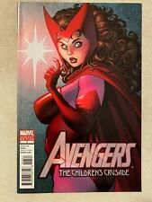 AVENGERS: THE CHILDREN'S CRUSADE #3 ART ADAMS VARIANT COVER ART SCARLET WITCH